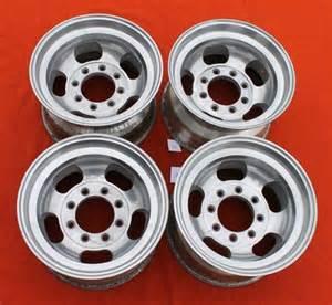 Aluminum Truck Wheels For Sale Aluminum Slot Wheels 16 5 X 9 75 Quot 8 For Sale In