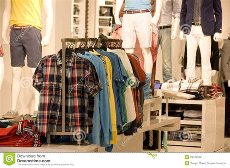 fashion clothing store stock photography image 29720752