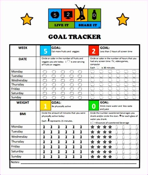 11 Goal Setting Template Excel Exceltemplates Exceltemplates Goal Setting Template Excel