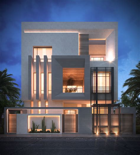 architect home design villa sadeq architects kuwait modern
