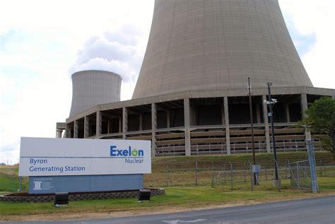 map of illinois power plants byron illinois exelon nuclear power plant the plant