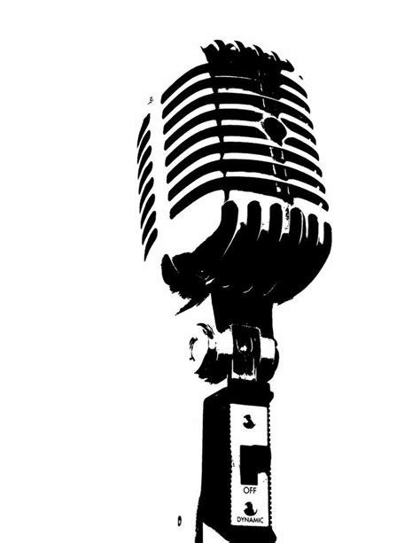 microphone tattoo template microphone stencil ideas pinterest