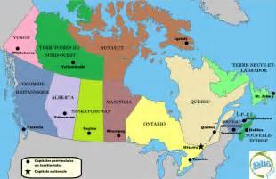 carte du canada world map