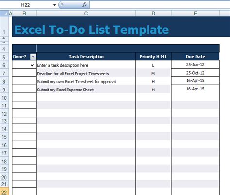 excel todo list template project list template excel shelves plans