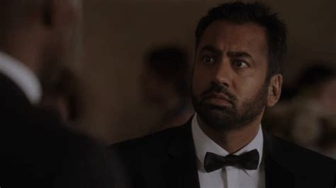 designated survivor gif kal penn laughing gif by abc network find share on giphy