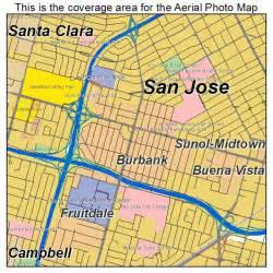 burbank california map aerial photography map of burbank ca california