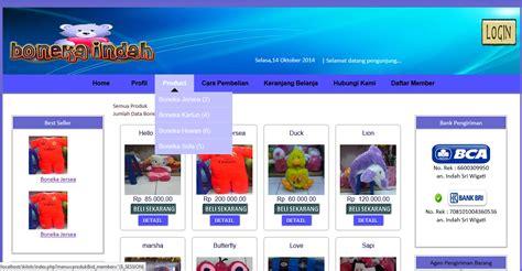 membuat website toko online html cara membuat website toko online dengan notepad contoh