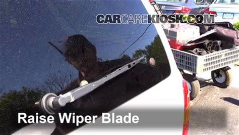 front wiper blade change ford escape 2005 2012 2008 ford escape xlt 3 0l v6 rear wiper blade change ford escape 2005 2012 2005 ford escape xls 3 0l v6
