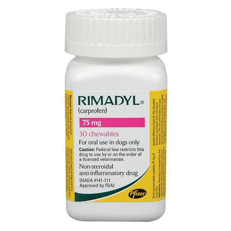 rimadyl 75mg for dogs rimadyl chewables 75mg per tablet vet postvet post