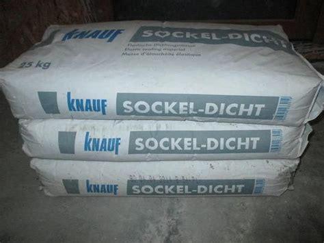 Knauf Sockel Dicht by Knauf Sockel Dicht In Heilsbronn Sonstiges Material F 252 R Den Hausbau Kaufen Und Verkaufen 252 Ber