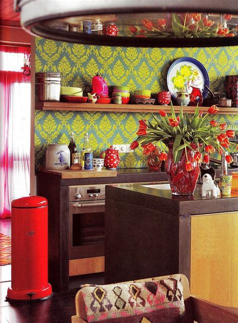 colorful kitchen cabinets ideas 57 bright and colorful kitchen design ideas digsdigs