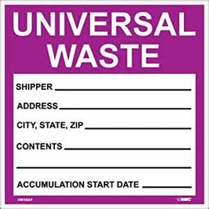 universal label template nmc hw30ap hazardous waste container label