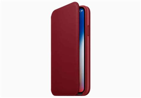 Apple Iphone X Leather apple adds leather folio for iphone x