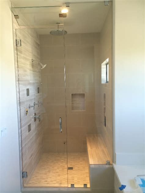 California Shower Door San Francisco San Diego Frameless Steam Shower Patriot Glass And Mirror San Diego Ca