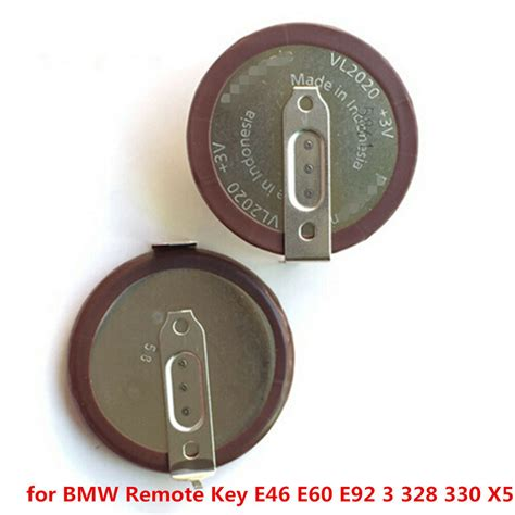 Bmw Key Battery Vl2020 by Original Vl2020 Rechargeable Battery For Bmw Remote Key