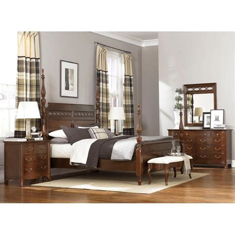 cherry grove new generation four poster bedroom collection 091 326 american drew furniture eastern king poster bed