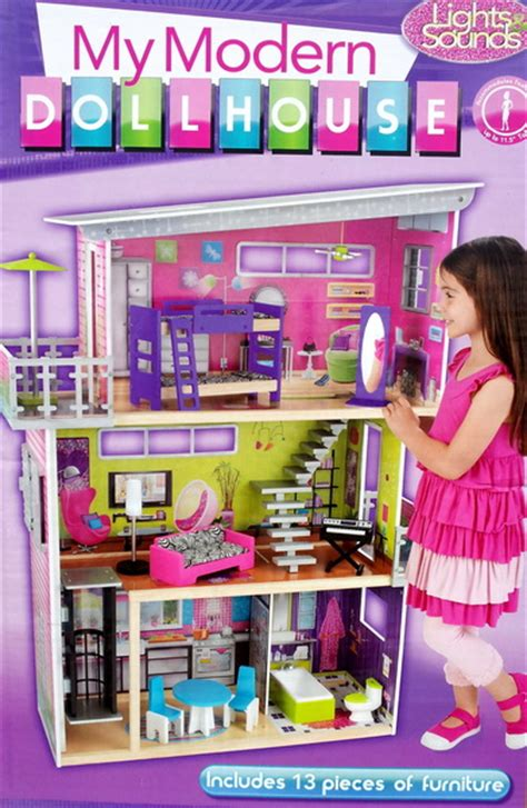 barbie doll house kit new kidkraft large wood dollhouse fits barbie doll house kit furniture ebay