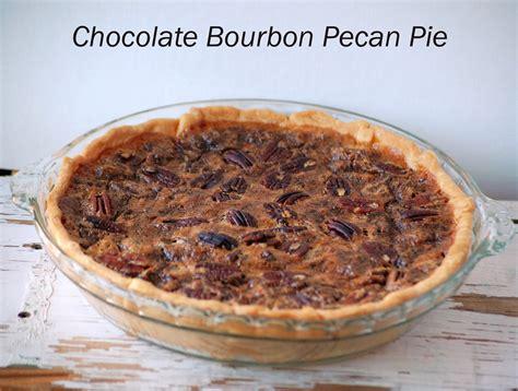 violets buds chocolate bourbon pecan pie recipe