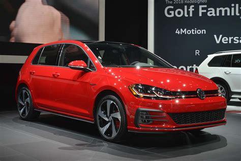 2018 volkswagen golf gti u s spec 2018 volkswagen golf revealed ahead of new york