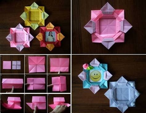 How To Make Paper Sculptures At Home - paper flower picture frame 1 find projects to do