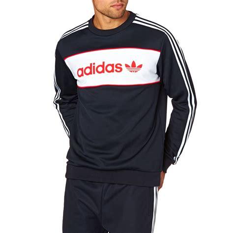 Sweater Hoodie Adidas 49 Ag Banaboo adidas originals block crew sweatshirt legend ink s10 free delivery
