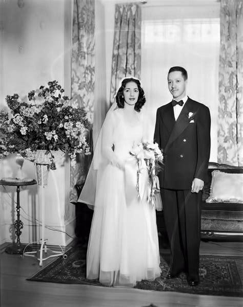 african americans in 1940 s vintage wedding 1940 s