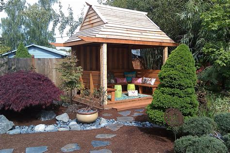 tea houses consider it done construction backyard tea house
