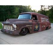 1955 CHEVY 3800 PANEL TRUCK RUSTY RANCH  Classic
