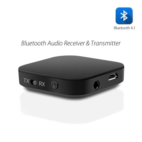Bluetooth 2 In 1 Transmitter And Receiver 2 in 1 bluetooth receiver transmitter wireless audio receiver bluetooth 4 1 transmitter for