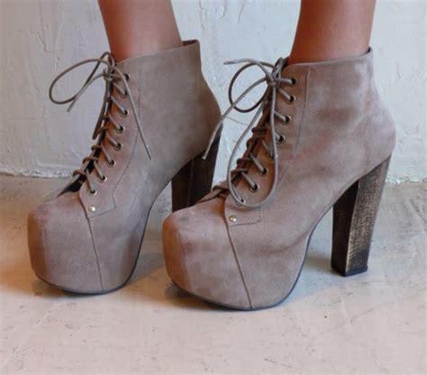 shoes grey sand heels jeffrey cbell lita boots