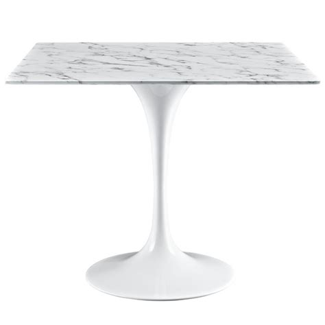 square marble top dining table brilliant square white marble dining table modern