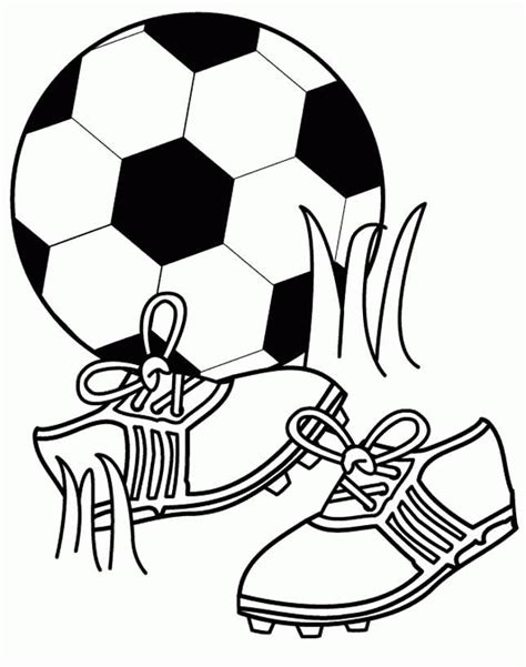 Football Coloring Pages Coloringpages1001 Com Coloring Pages Of Soccer