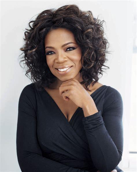 oprah black dress