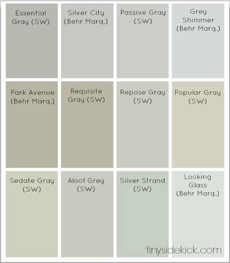 colors that goes with grey best neutral paint colors from sherwin williams and behr