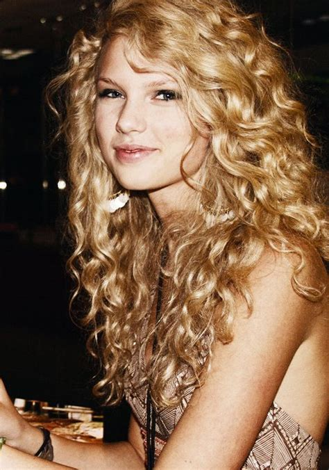 taylor swift early country back to the days when taylor swift had curly hair and her