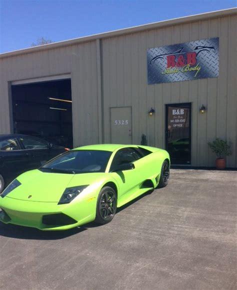 Lamborghini Repair Shop B B Auto Collision Repair Gallery Sarasota Fl