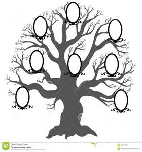 family tree vector illustration stock vector image
