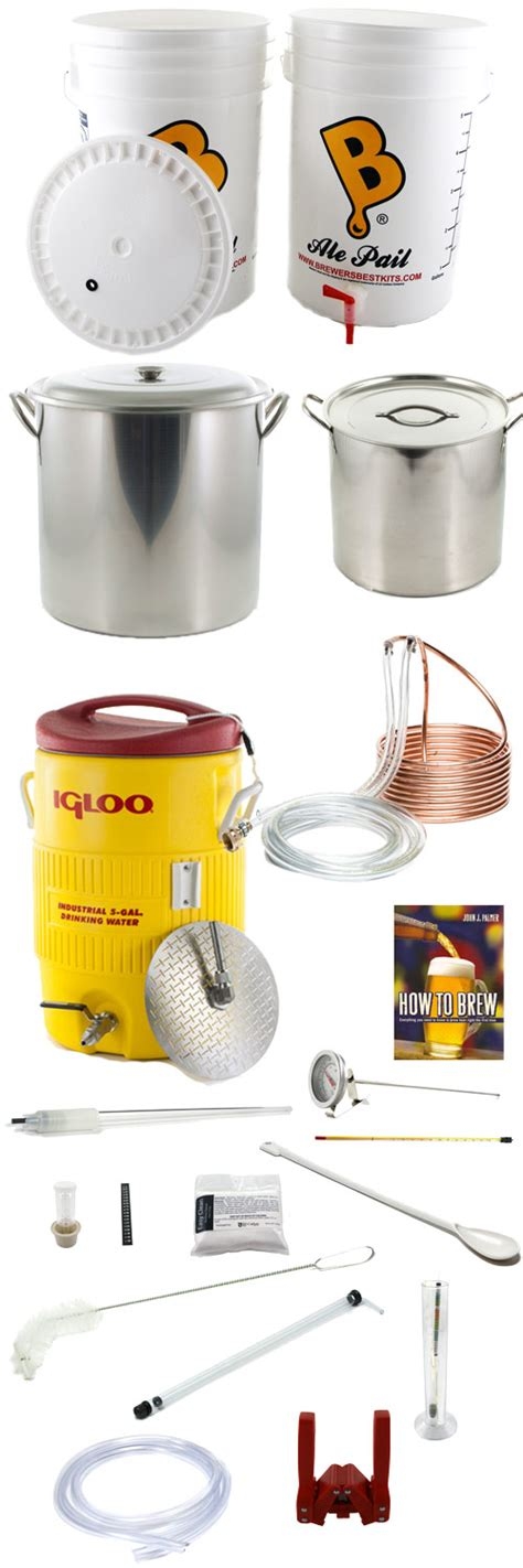 all grain brewing equipment kit homebrewing kit