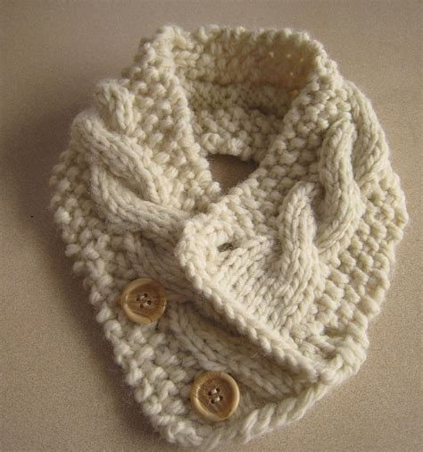 neck warmer knitting pattern cabled neck warmer