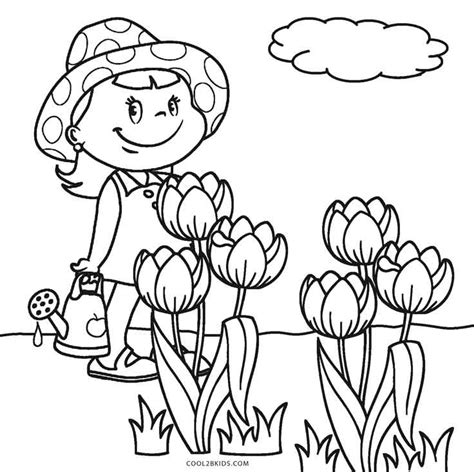 printable flower coloring pages free printable flower coloring pages for cool2bkids