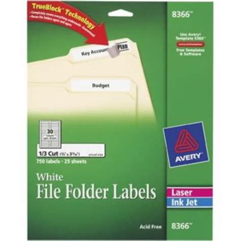 Avery File Folder Label Templates by File Folder Label Template 8366 Eusoftware