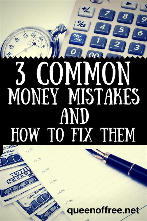 my money mistakes and how i am trying to fix them