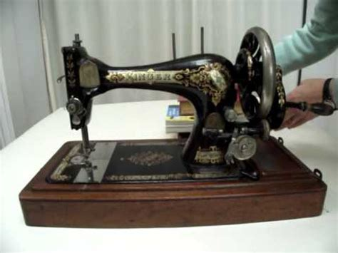 How to clean and oil a vintage sewing machine Part 1   YouTube