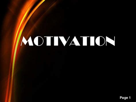 ppt templates for motivation free download motivation and its theories