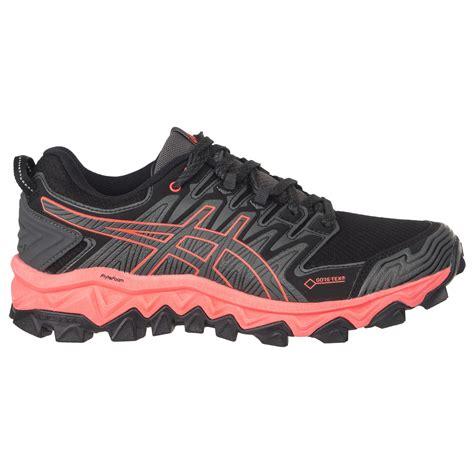 asics gel fujitrabuco  gtx trail running shoes womens