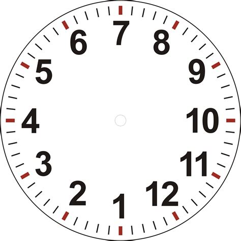 make a clock template clock faces cliparts co