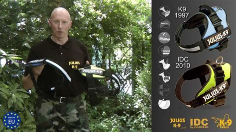 how to your like a k9 k9 174 harness vs idc 174 harness official test by manufacturer