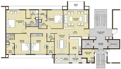 3000 sq ft apartment floor plan 3000 sq ft 4 bhk 4t apartment for sale in rohtas