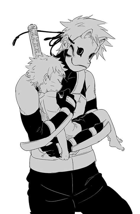 anbu mask zerochan anime image board