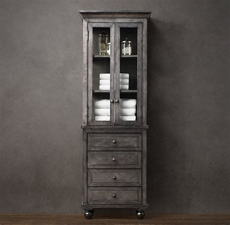 restoration hardware bathroom storage 154 best images about for the lack of closets on pinterest